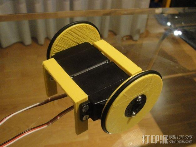 MiniSkybot机器人底盘 3D模型  图5