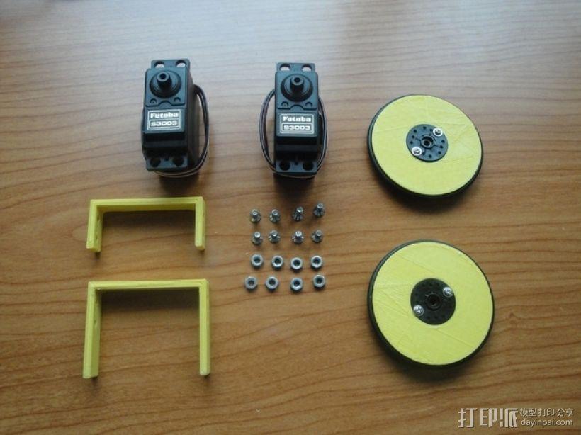 MiniSkybot机器人底盘 3D模型  图7