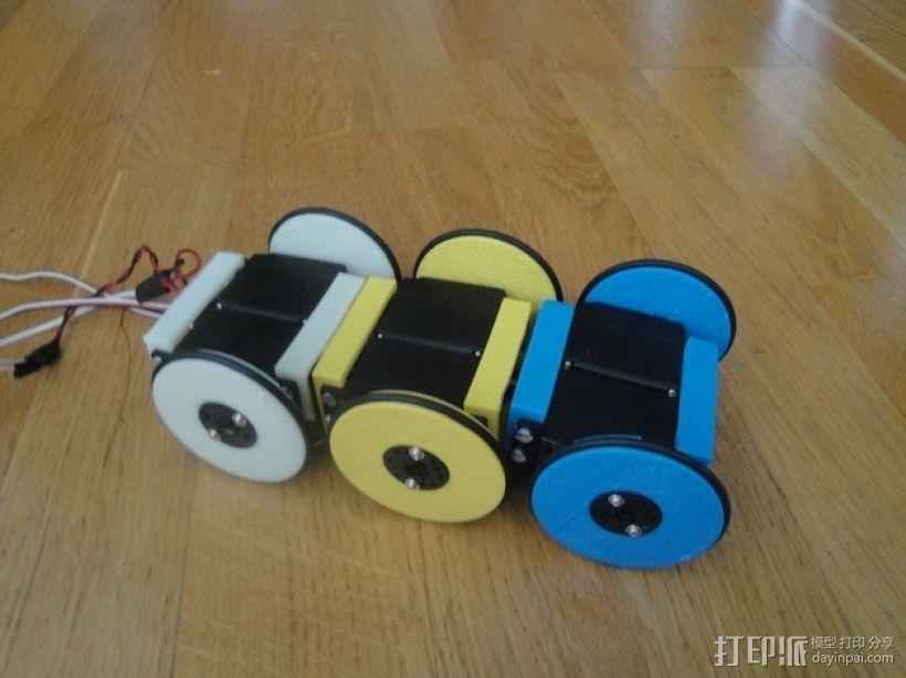 MiniSkybot机器人底盘 3D模型  图9