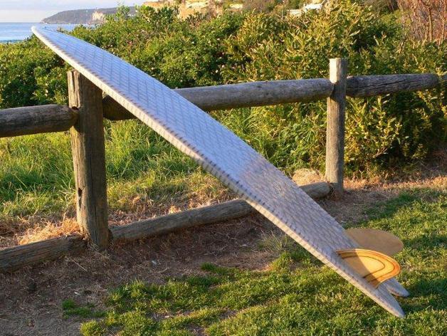 6尺4的冲浪板 3D模型  图3