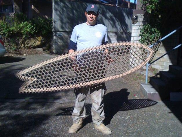 6尺4的冲浪板 3D模型  图2