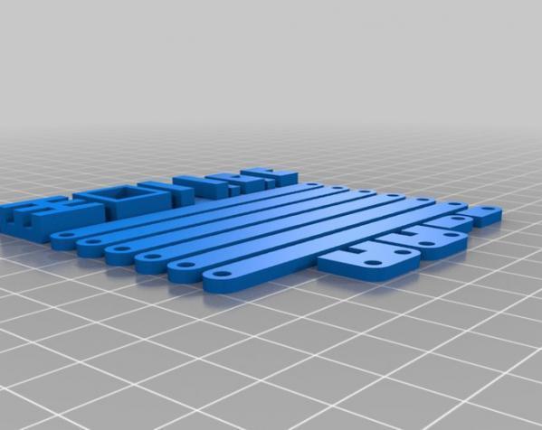 M 固定夹 3D模型  图6