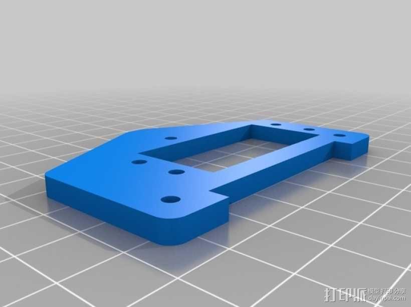 标准伺服夹 3D模型  图5