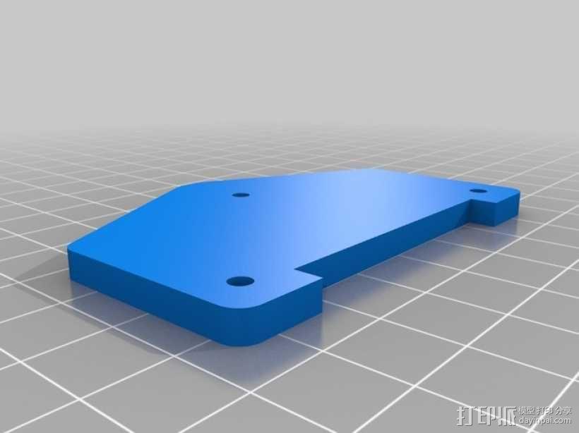 标准伺服夹 3D模型  图7