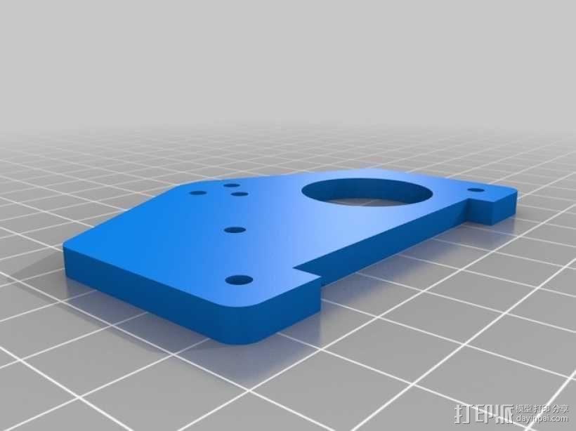 标准伺服夹 3D模型  图8