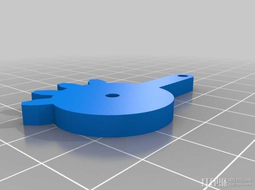 标准伺服夹 3D模型  图12