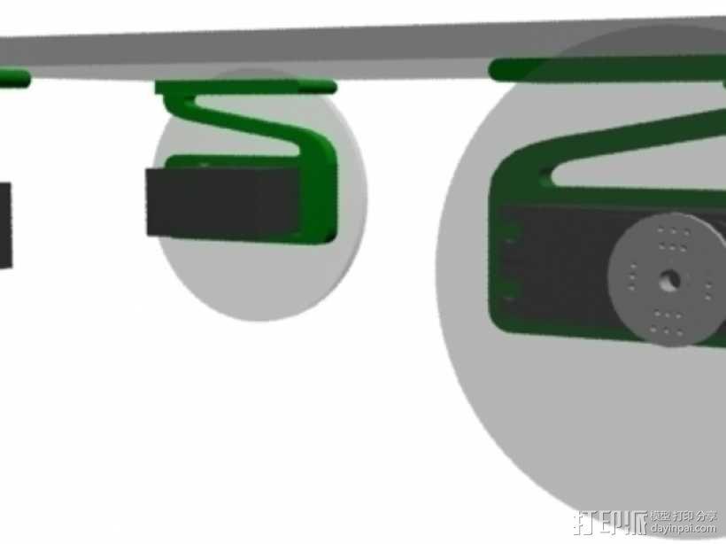 伺服悬浮系统 3D模型  图4