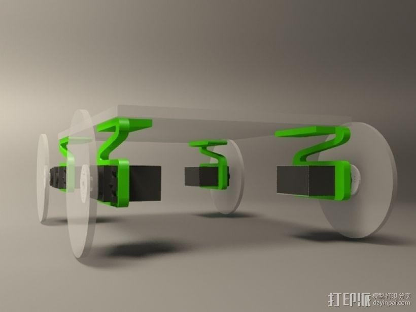 伺服悬浮系统 3D模型  图5