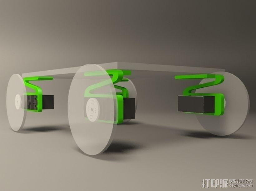 伺服悬浮系统 3D模型  图7