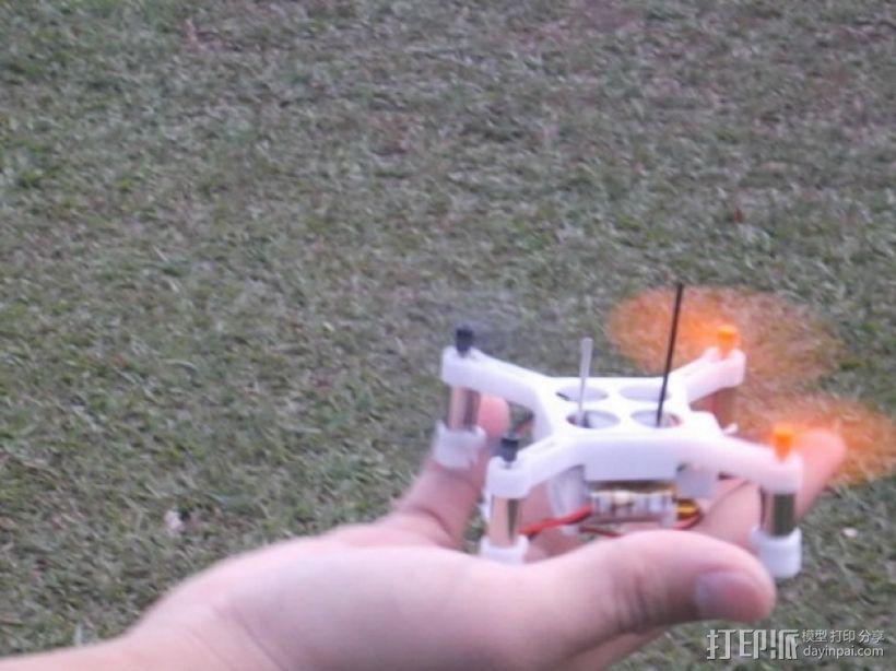 XL-RCM 10.0 PIXXY:袖珍无人机/FPV 飞行器 3D模型  图5