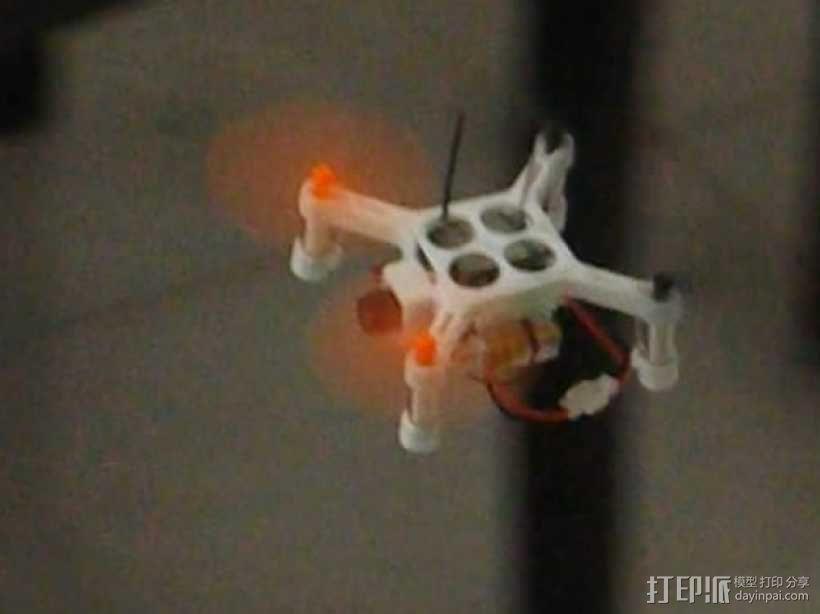 XL-RCM 10.0 PIXXY:袖珍无人机/FPV 飞行器 3D模型  图3