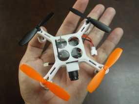 XL-RCM 10.0 PIXXY:袖珍无人机/FPV 飞行器 3D模型
