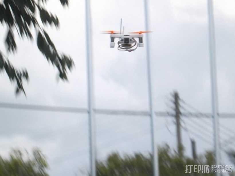 XL-RCM 10.0 PIXXY:袖珍无人机/FPV 飞行器 3D模型  图4
