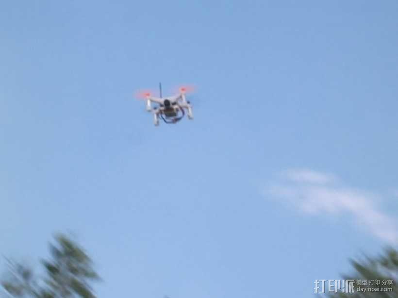 XL-RCM 10.0 PIXXY:袖珍无人机/FPV 飞行器 3D模型  图2