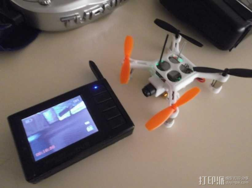 XL-RCM 10.0 PIXXY:袖珍无人机/FPV 飞行器 3D模型  图6