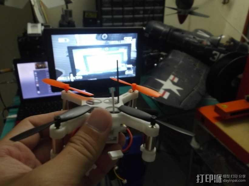 XL-RCM 10.0 PIXXY:袖珍无人机/FPV 飞行器 3D模型  图8