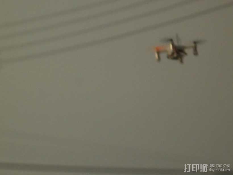 XL-RCM 10.0 PIXXY:袖珍无人机/FPV 飞行器 3D模型  图9