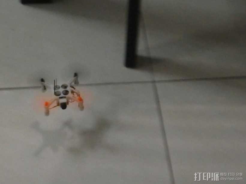 XL-RCM 10.0 PIXXY:袖珍无人机/FPV 飞行器 3D模型  图11