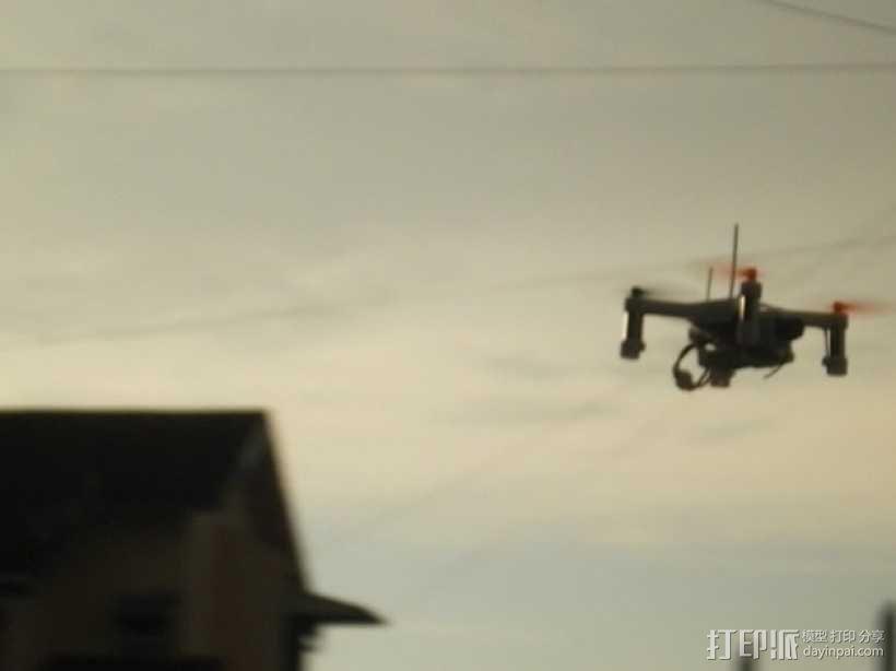 XL-RCM 10.0 PIXXY:袖珍无人机/FPV 飞行器 3D模型  图13