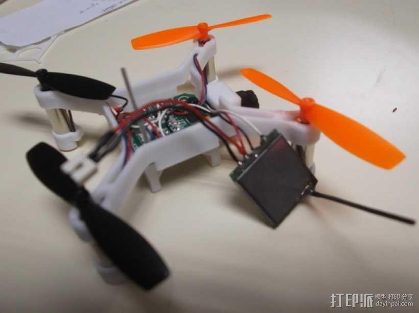 XL-RCM 10.0 PIXXY:袖珍无人机/FPV 飞行器 3D模型  图24