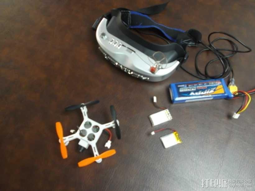 XL-RCM 10.0 PIXXY:袖珍无人机/FPV 飞行器 3D模型  图27