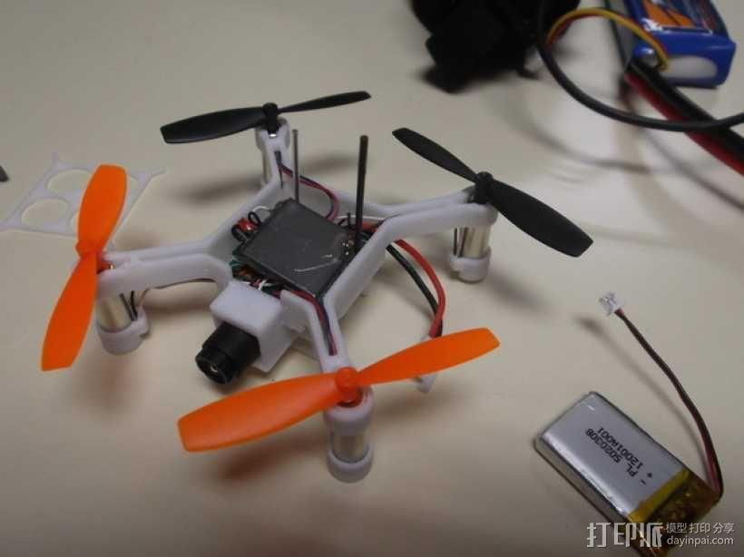XL-RCM 10.0 PIXXY:袖珍无人机/FPV 飞行器 3D模型  图33