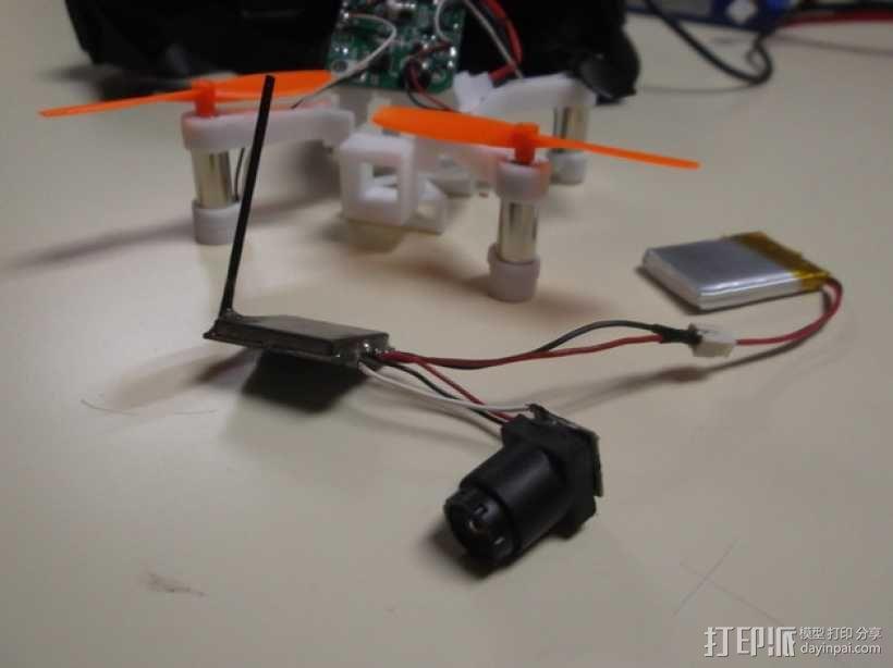 XL-RCM 10.0 PIXXY:袖珍无人机/FPV 飞行器 3D模型  图34