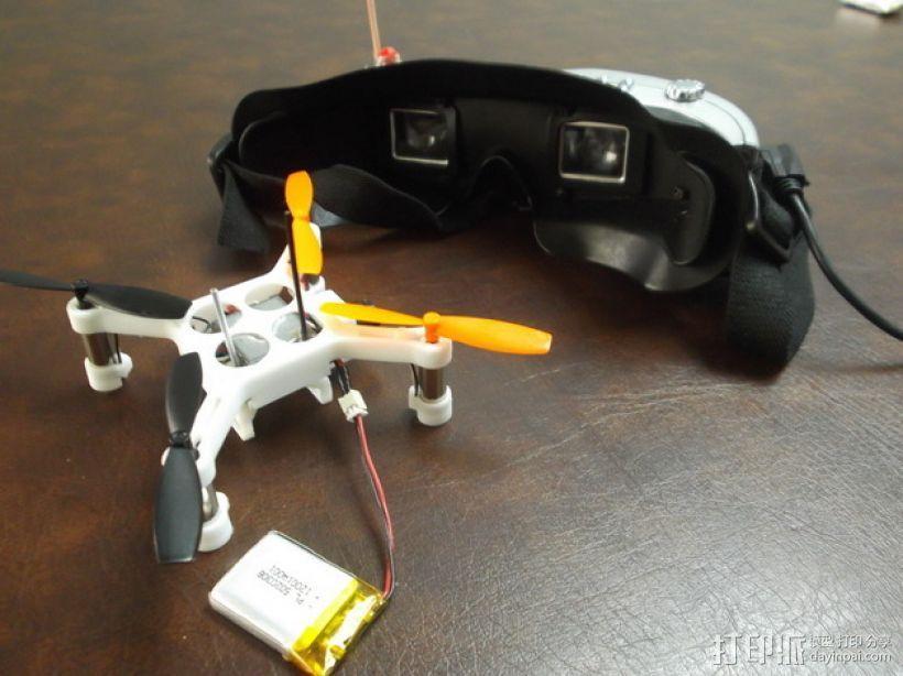 XL-RCM 10.0 PIXXY:袖珍无人机/FPV 飞行器 3D模型  图35