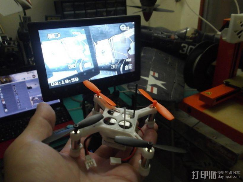 XL-RCM 10.0 PIXXY:袖珍无人机/FPV 飞行器 3D模型  图37
