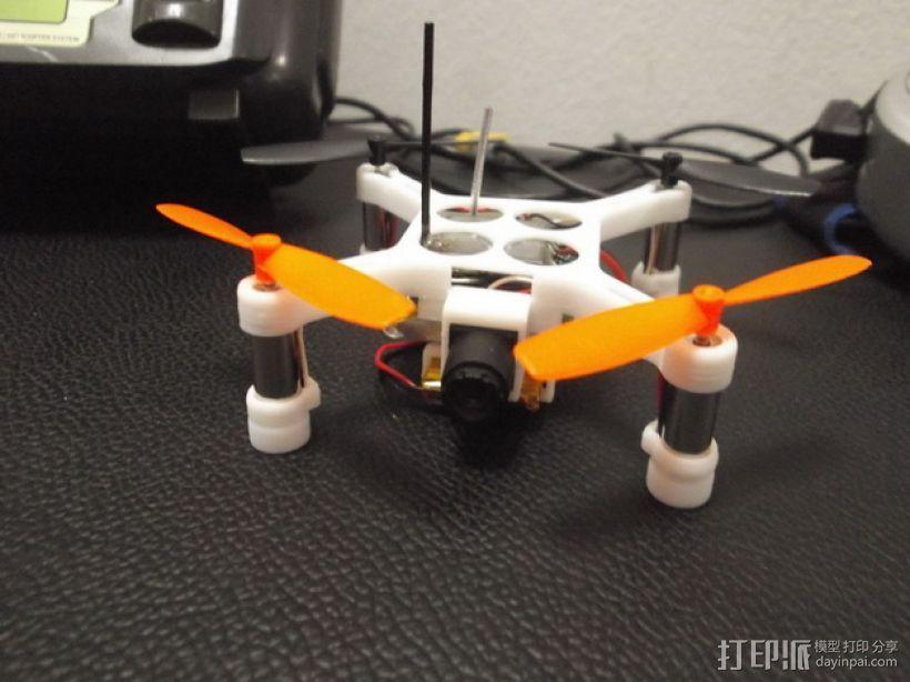 XL-RCM 10.0 PIXXY:袖珍无人机/FPV 飞行器 3D模型  图38
