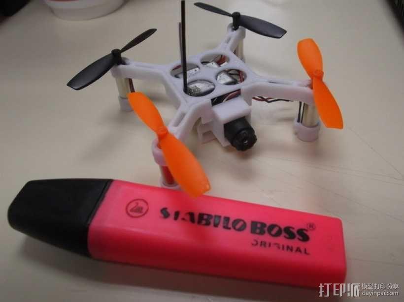 XL-RCM 10.0 PIXXY:袖珍无人机/FPV 飞行器 3D模型  图39