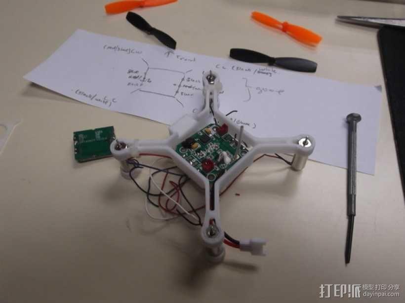 XL-RCM 10.0 PIXXY:袖珍无人机/FPV 飞行器 3D模型  图45