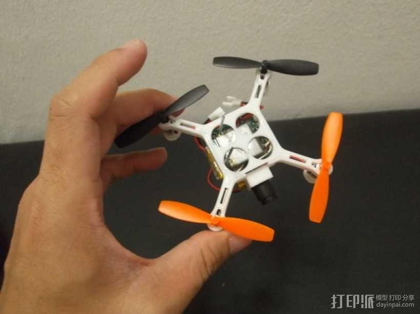 XL-RCM 10.0 PIXXY:袖珍无人机/FPV 飞行器 3D模型  图47