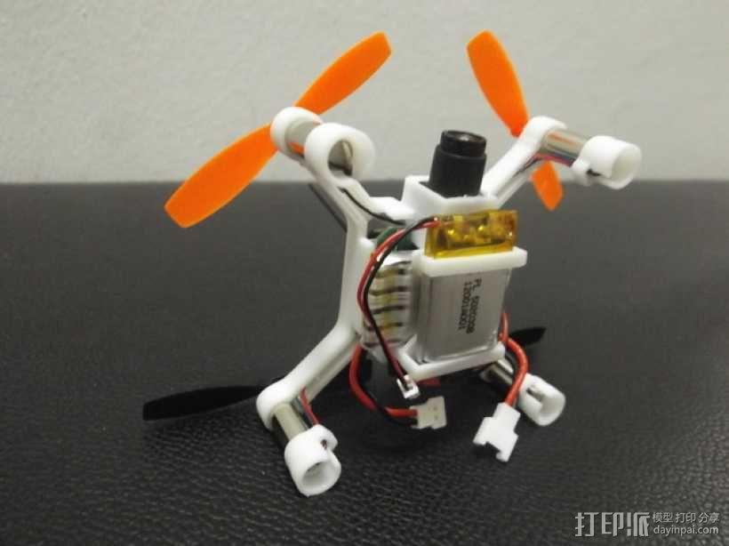 XL-RCM 10.0 PIXXY:袖珍无人机/FPV 飞行器 3D模型  图46