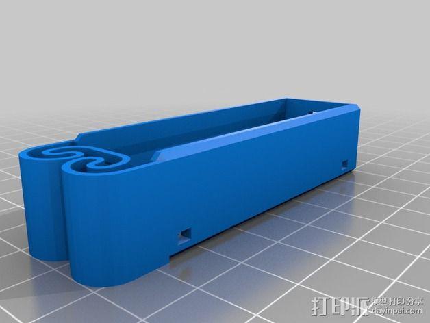 集成弹簧的曲型电池盒 3D模型  图21