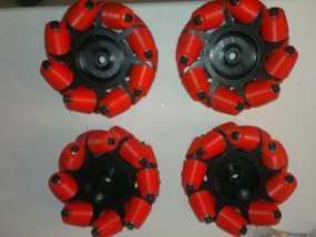 麦克纳姆轮 3D模型