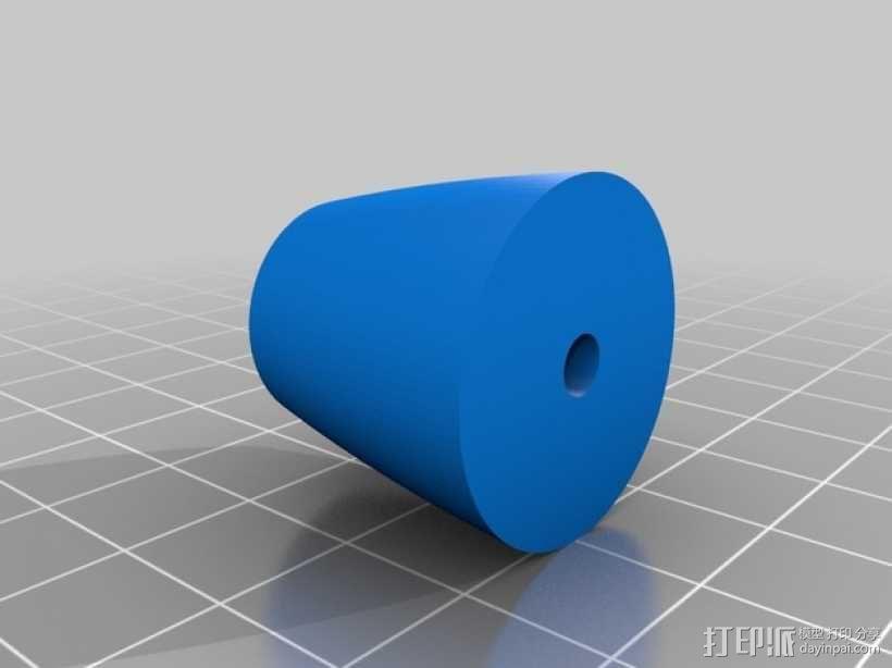 麦克纳姆轮 3D模型  图8