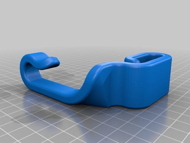车后座垃圾袋悬挂钩 3D模型  图4