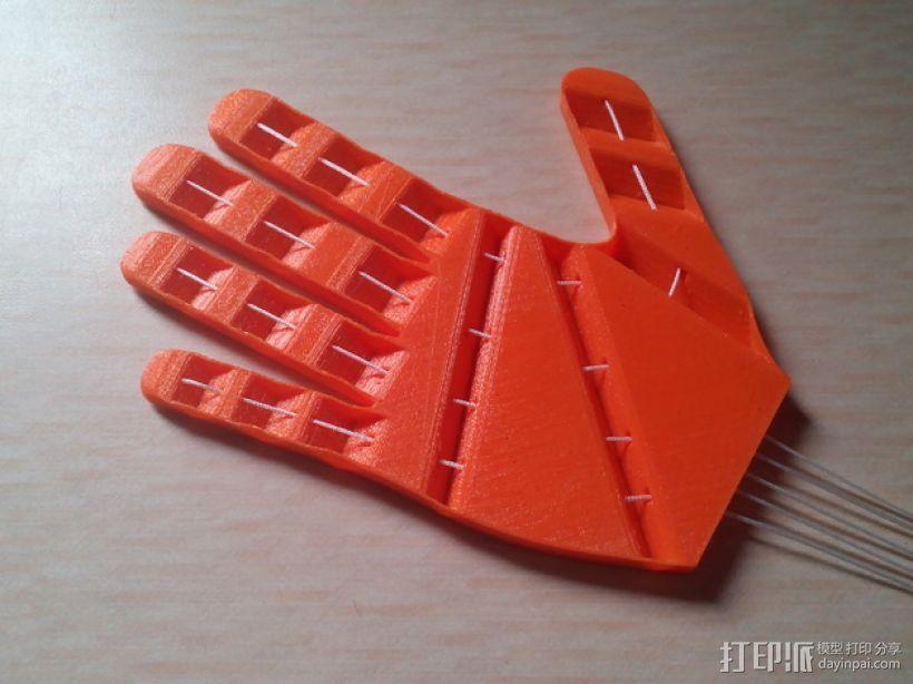 打印假肢 3D模型  图1