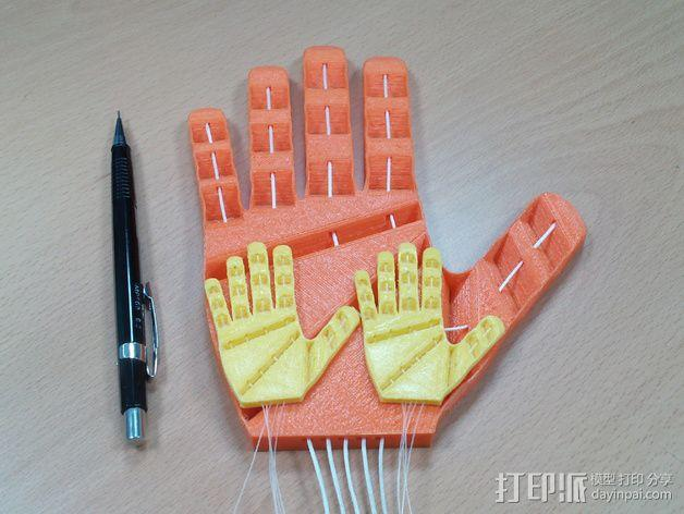 打印假肢 3D模型  图3