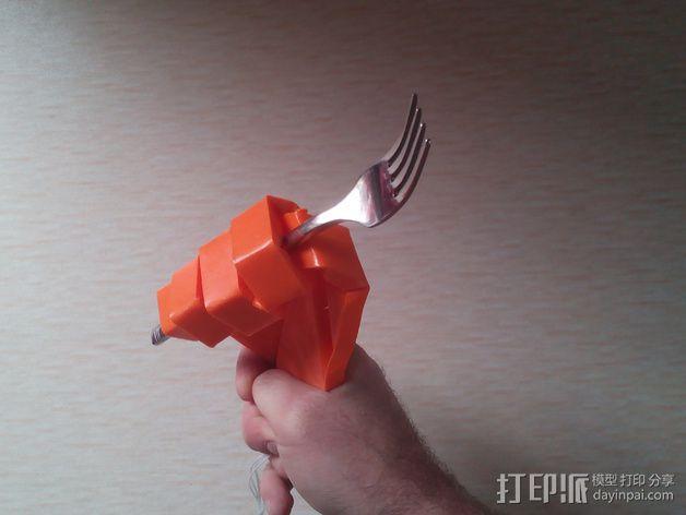 打印假肢 3D模型  图7