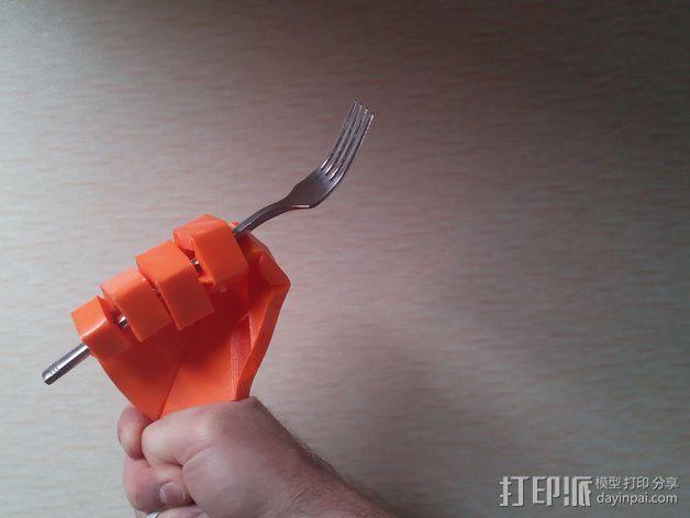 打印假肢 3D模型  图5