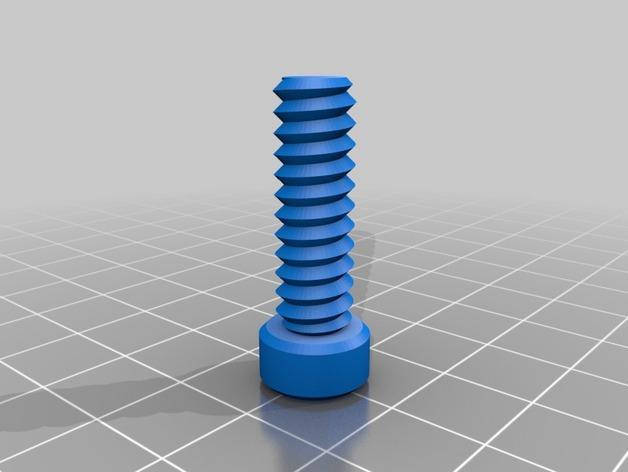 螺母,螺丝,螺杆 3D模型  图3