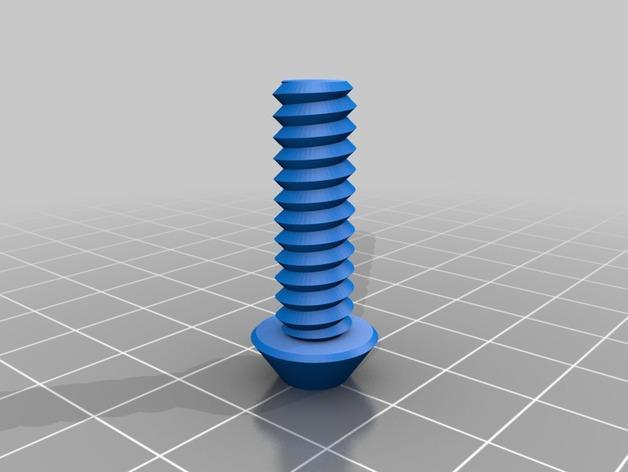 螺母,螺丝,螺杆 3D模型  图5