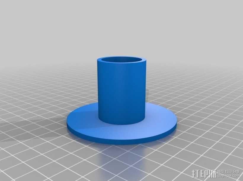 离心式压缩机 3D模型  图2