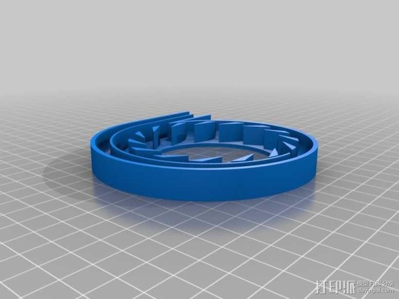 离心式压缩机 3D模型  图4