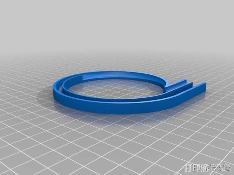 离心式压缩机 3D模型  图5