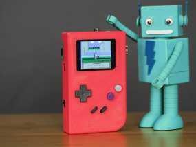 DIY树莓派游戏机 3D模型