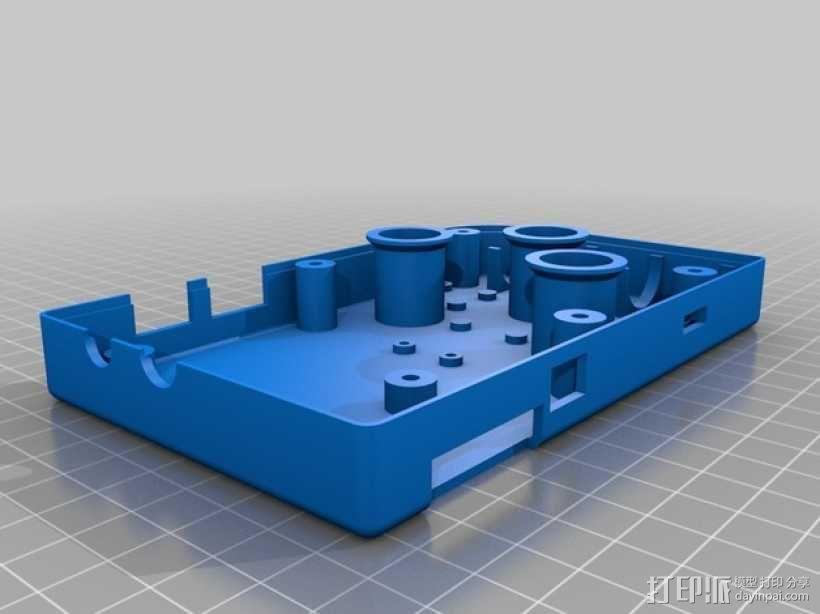 DIY树莓派游戏机 3D模型  图3