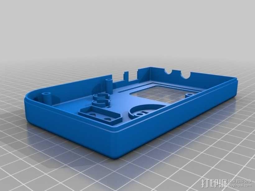 DIY树莓派游戏机 3D模型  图2